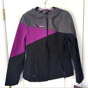 NEW CB Sports Purple, Black, Gray Ski Jacket M